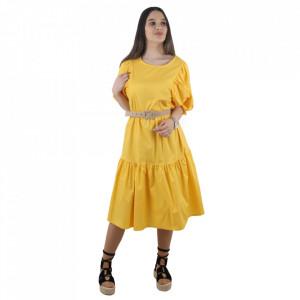 Rochie cod 643 Yellow