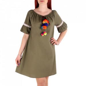 Rochie de vară cod 14856 Khaki