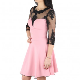Rochie Lacey Pink