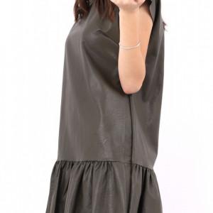 Rochie Lori Khaki - Cumpără îmbrăcăminte și incăltăminte de calitate cu un stil aparte mereu în ton cu moda, prețuri accesibile și reduceri reale, transport în toată țara cu plata la ramburs - Deppo.ro