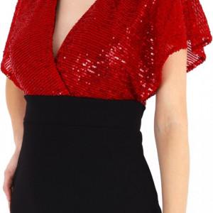 Rochie Mia Boutique Rosie - Cumpără îmbrăcăminte și incăltăminte de calitate cu un stil aparte mereu în ton cu moda, prețuri accesibile și reduceri reale, transport în toată țara cu plata la ramburs - Deppo.ro