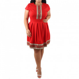 Rochie Poly Red