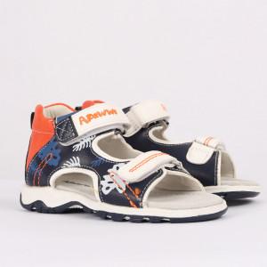 Sandale pentru băieți cod CP41 Bleumarin