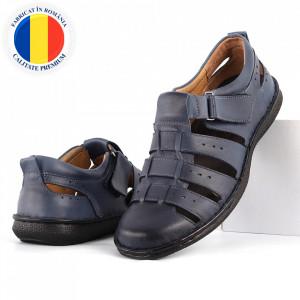 Sandale pentru bărbaţi cod 701NS Albastre