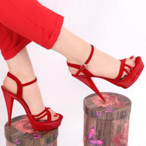 Sandale pentru dame cod 09568 Red