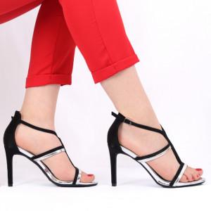 Sandale pentru dame cod 136 Silver