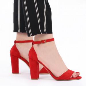 Sandale pentru dame cod 8901C Red