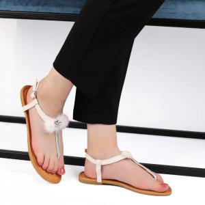 Sandale pentru dame cod AK8807 White