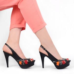 Sandale pentru dame cod B5657 Negre