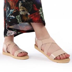 Sandale pentru dame cod B90 Nude