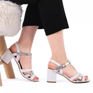 Sandale pentru dame cod CD04 White