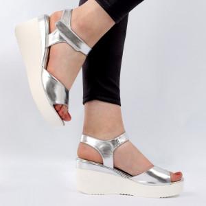 Sandale pentru dame cod EK0070 Silver