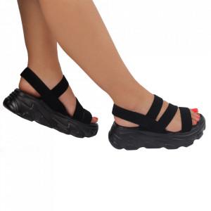 Sandale pentru dame cod F55 Black