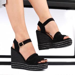 Sandale pentru dame cod JM221J Black