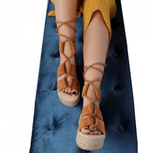 Sandale pentru dame cod JM223 Camel