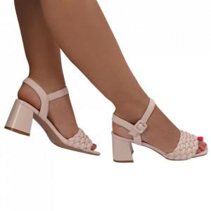 Sandale pentru dame cod M-34 Beige
