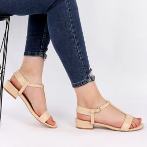 Sandale pentru dame cod OD0105 Beige