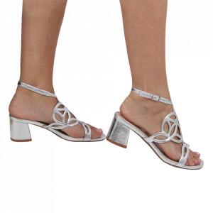 Sandale pentru dame cod OD0240 Silver