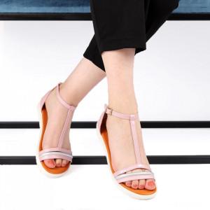 Sandale pentru dame cod YK555-6 Pink