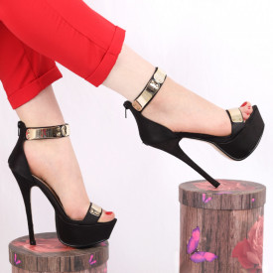Sandale pentru dame cod YLCGH Black