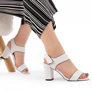 Sandale pentru dame cod Z04 White