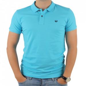 Tricou pentru bărbați cod 4002 Albastru deschis