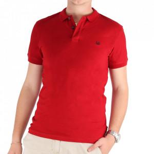 Tricou pentru bărbați Cod 4002 Bordo