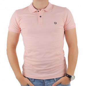 Tricou pentru bărbați cod 4002 Pudra