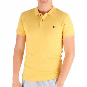 Tricou pentru bărbați Cod 4002 Yellow