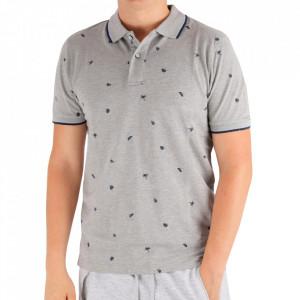 Tricou pentru bărbați Cod BP021 Grey