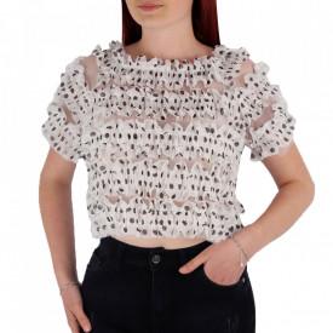 Tricou pentru dame cod P8875 White