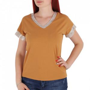 Tricou pentru dame cod TY112 Brown