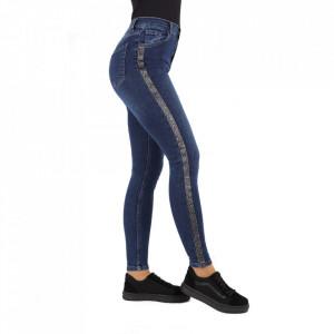 Pantaloni de blugi pentru dame cod 1949 Albaștri