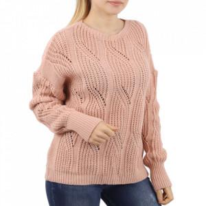 Bluză pentru dame cod F80 Pink