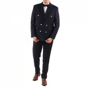 Costum classic fit 2110-1 Albastru