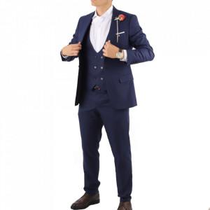 Costum slim fit 1737 Albastru