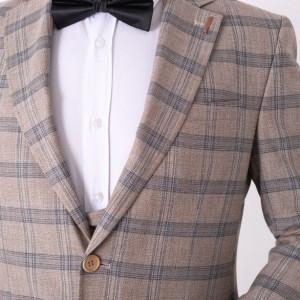 Costum slim fit Mark Leon - Cumpără îmbrăcăminte și încălțăminte de calitate cu un stil aparte mereu în ton cu moda, prețuri accesibile și reduceri reale, transport în toată țara cu plata la ramburs - Deppo.ro