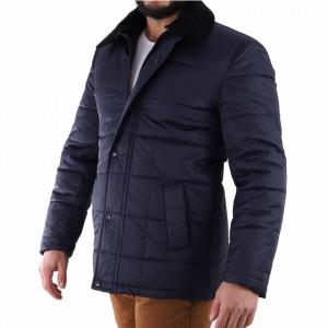 Geacă de iarnă Ronald - Geacă de iarnă elegantă pentru bărbați construită cu un fermoar de fixare și butoni cu căptușeală moale, jacheta vă va menține cald în zilele reci de iarnă. - Deppo.ro