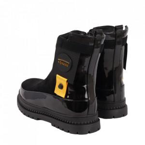 Ghete pentru fete cod DD44 Black - Ghete pentru copii, stil casual. - Deppo.ro
