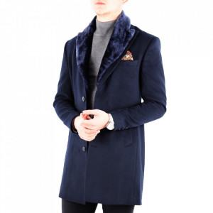 Palton Brady Bleumarin