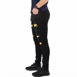 Pantaloni de blugi pentru bărbați cod P5607 Negri