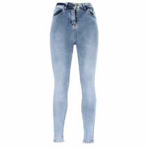 Pantaloni de blugi pentru dame cod 1172 Albaștri