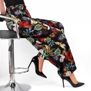 Pantaloni pentru dame cod P2817 Black