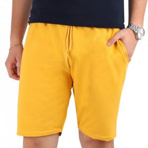 Pantaloni scurți pentru bărbați cod A554 Yellow