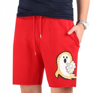 Pantaloni scurți pentru bărbați cod DS65 RED
