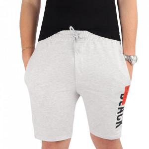 Pantaloni scurți pentru bărbați cod MP1318 Grey