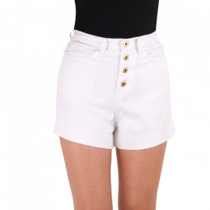Pantaloni scurți pentru dame cod PSS1 White