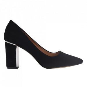 Pantofi cu toc cod EK0500 Black