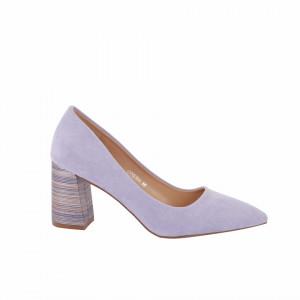 Pantofi cu toc cod OD0204 Purple