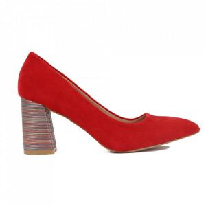 Pantofi cu toc cod OD0204 Red